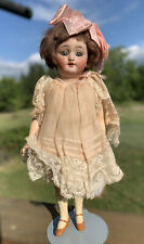 """9.5"""" All Original Minty Simon And Halbig 1078 Bisque Head Doll"""