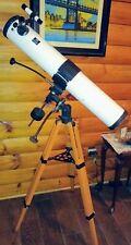 "Vintage 1960's Mayflower Refracting Telescope #824 4 1/2"" x 900mm 45-90-225-450"