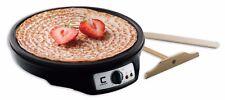 "Electric Griddle Crepe Pan Non Stick 12"" Precise Temp Control w/ Accesories"