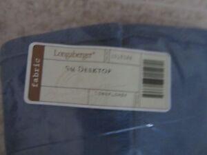 Longaberger Small Desktop Basket Liner Cornflower Fabric