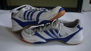 Adidas Adiprene Sneaker Laufschuh Tennis Gr. 42 2/3 - UK 8,5 - weiss 🥳 🎉🏃♀