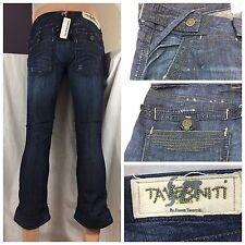 "Taverniti SO Jeans Sz 26 Blue ""Monsieur"" Women's Cropped NWT CG275 YGI"