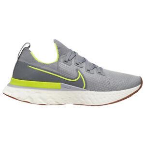 Nike React Infinity Run FK Men's Running Shoe grey volt sneaker CD4371-008