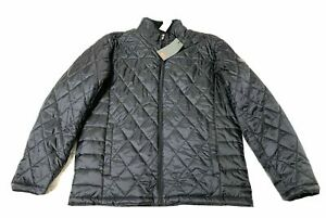 NWT $195 TUMI Men's Black Quilted Jacket