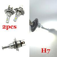 2x H7 35W LED Car Headlight Kit Bulb Fog Light White Hi/Lo Beam Plug And Play