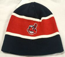 New!  MLB Cleveland Indians Cuffles Beanie