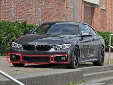 BMW 4 SERIES F32 F33 F36 M SPORT GENUINE FRONT BUMPER LOWER GRILL MESH SET