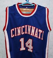 OSCAR ROBERTSON  14 CINCINNATI ROYALS JERSEY Blue AUTHORIZED NEW SEWN ANY  SIZE 6fc6fe01c
