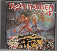IRON MAIDEN - run to the hills / the number of the beast CD