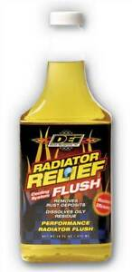 DEI Radiator Relief Cooling System Flush 16 oz. Bottle