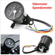 12V Motorcycle Atv Led Backlight Dual Odometer Kmh Speedometer Gauge Waterproof