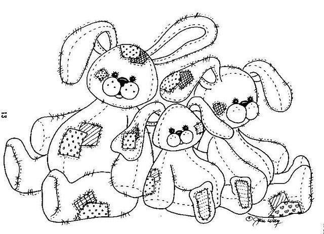 Patchwork Rabbit