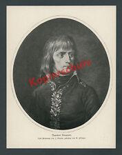 Guérin fiesinger Portrait General Napoleon crest France Military Paris 1799