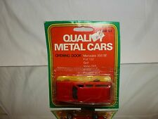 QUALITY METAL CARS AM63 VOLVO 245  - RED L9.5cm RARE - GOOD IN CARD-BLISTER
