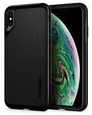 """Spigen Apple iPhone XS Max 6.5"""" Neo Hybrid Case Hülle Bumper Schutz Jet Black"""