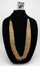 New Multi Colored Seed Bead Necklace by Anthropologie nwt #ANT8