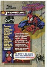 Collectible 1994 Fleer Amazing Spider-Man Uncut Promo Trading Cards LOT Of 5