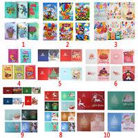 5D DIY Diamond Painting Xmas Christmas Greeting Card Cross Stitch Embroidery