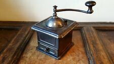 More details for antique peugeot freres pressed steel coffee mill grinder - scarce