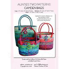 FORTUNE COOKIE BAGS AND BASKETS~4 Projects~Aunties Two Patterns~Totes Bags Purse