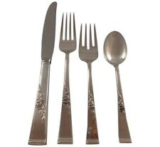 Classic Rose by Reed & Barton Sterling Silver Flatware Set Service 48 pcs New