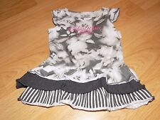 Toddler Size 3T Calvin Klein Jeans Gray White Pink Casual Dress Tunic Top
