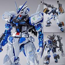 New Bandai Metal Build Gundam SEED Astray Blue Frame Full Weapon Set Figure