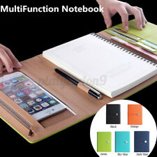 New Listinga5 Folder Loose Leaf Ring Notebook Cover Planner Binder Business Scho Z