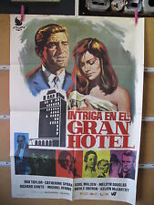 A2527 INTRIGA EN EL GRAN HOTEL ROD TAYLOR CATHERINE SPAAK