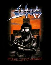 SODOM cd cvr PERSECUTION MANIA / GROUP PHOTO BACK Official SHIRT SMALL new