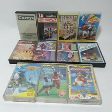 11x Sinclair ZX Spectrum Game Bundle Lot Pedro Missile Defence Indoor Soccer