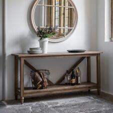Frank Hudson Gallery Direct Cookham Oak Trestle Console Table