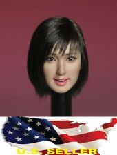SUPERDUCK 1/6 female head short hair SDH007 B for Phicen hot toys verycool ❶USA❶