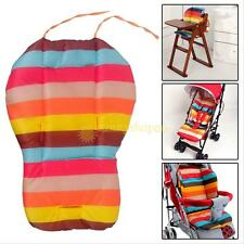 Rainbow Color Baby Infant Stroller Seat Pushchair Cushion Mat Pads Liner New