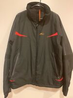 KJUS SYSTEMS Men's Ski Snowboard Winter Jacket Black Extra Large XL M3