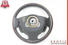 10-15 Jaguar XJ Steering Wheel w/ Paddle Shifters Wood OEM