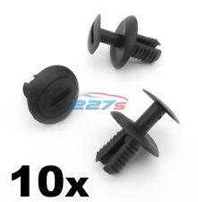 10x 8 mm Passaruota Fodera & Clip Paraurti posteriore per adattare la VW UP! & VW Crafter