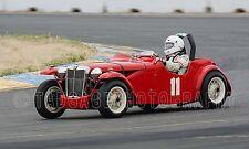 1950 MG TD Von Neumann Special  Vintage Classic Race Car Photo CA-1309