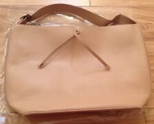 Mango Light Brown Shopper Hand Bag