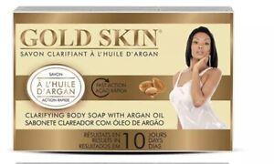 1 x GOLD SKIN CLARIFYING BODY  SOAP 180g, Argan Oil