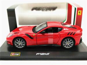 Bburago 1:32 Ferrari F12 tdf Red Diecast Model Sports Racing Car NEW IN BOX