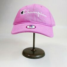 Champion mens 100% authentic adjustable cap logo one size pink