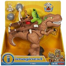Fisher Price Imaginext Deluxe T-Rex Dinosaur CDN91 NEW