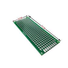 2pcs 3x7cm Double Side Prototype Pcb Universal Printed Circuit Board