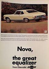 1968 ChEvRoLeT NoVa $$ Chevy II-AD/PICTURE/PRINT 69 70 71 RS SS 355 BIG BLOCK