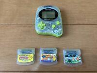 Pokemon mini Console Chikorita Green 3 Games Set