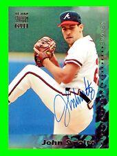 "1994 Topps Stadium Club #35 ""JOHN SMOLTZ Auto"" Authentic Autograph BRAVES HOF @"
