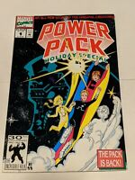 Power Pack Holiday Special #1 February 1992 Marvel Comics