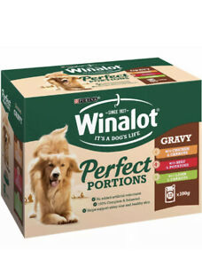Winalot Pouch Adult Dog Selection In Gravy Chk & Carrots Beef & Pots And Lamb 12