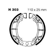 COPPIA GANASCE FRENO EBC H303 KYMCO 50 Agility 2T RSN R12 2010-2015
